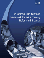 The National Qualifications Framework for Skills Training Reform in Sri Lanka