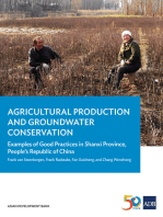 Agricultural Production and Groundwater Conservation