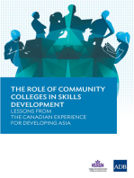 The Role of Community Colleges in Skills Development