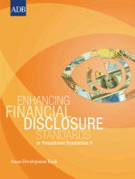 Enhancing Financial Disclosure Standards in Transitional Economies II