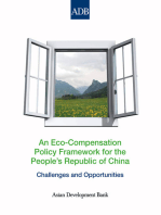 An Eco-Compensation Policy Framework for the People's Republic of China