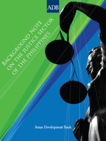 Background Note on the Justice Sector of the Philippines