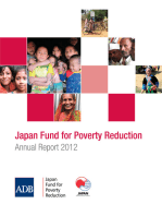 Japan Fund for Poverty Reduction: Annual Report 2012