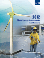 2012 Clean Energy Investments
