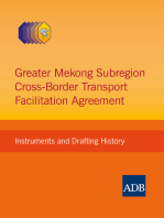 Greater Mekong Subregion Cross-Border Transport Facilitation Agreement