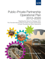 Public-Private Partnership Operational Plan 2012-2020