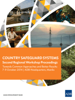 Country Safeguard Systems: Second Regional Workshop Proceedings: Towards Common Approaches and Better Results