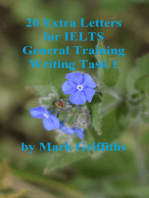20 Extra Letters for IELTS General Training Writing Task 1