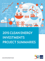 2015 Clean Energy Investments Project Summaries