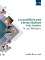Assessment of Microinsurance as Emerging Microfinance Service for the Poor