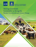 Making Grasslands Sustainable in Mongolia