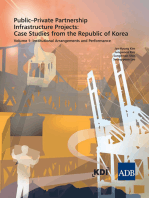 Public–Private Partnership Infrastructure Project: Case Studies from the Republic of Korea: Volume 1: Institutional Arrangements and Performance