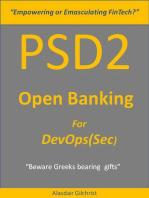 PSD2 - Open Banking for DevOps(Sec)