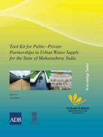 Toolkit for Public–Private Partnerships in Urban Water Supply for the State of Maharashtra, India