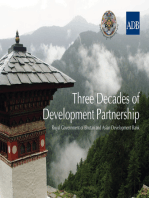 Three Decades of Development Partnership