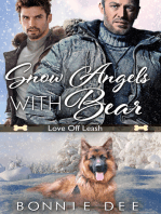 Snow Angels with Bear