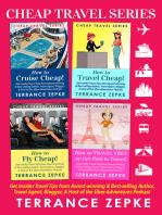 Cheap Travel Series (4 in 1) Box Set