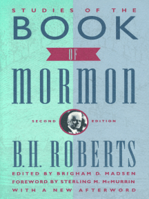 Studies of the Book of Mormon: Foreword by Sterling M. McMurrin