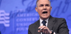 EPA Chief Pruitt's Recent Halloween Trick Will Scare the Health Out of You