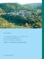La Seigneurie de Lanet en hautes-Corbieres (Vème-XIXème siècles)