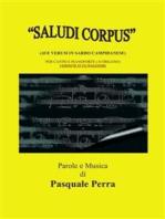 Saludi Corpus (Ave Verum in sardo campidanese). Versione in fa maggiore per canto e pianoforte