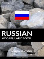 Russian Vocabulary Book