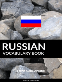 Russian Vocabulary Book: A Topic Based Approach