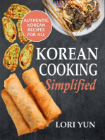 Korean Cooking Simplified: Authentic Korean Recipes For All