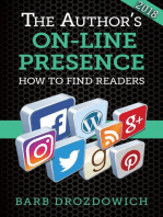 The Author's On-Line Presence