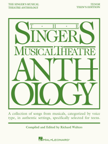 The Singer's Musical Theatre Anthology - Teen's Edition: Tenor Book Only
