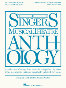 The Singer's Musical Theatre Anthology - Teen's Edition: Mezzo-Soprano/Alto/Belter Book Only