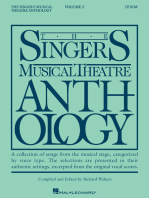 The Singer's Musical Theatre Anthology - Volume 2: Tenor Book Only
