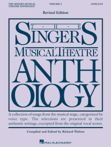 The Singer's Musical Theatre Anthology - Volume 2: Soprano Book Only