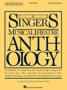 The Singer's Musical Theatre Anthology - Volume 2: Baritone/Bass Book Only