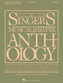 The Singer's Musical Theatre Anthology - Volume 3: Tenor Book Only