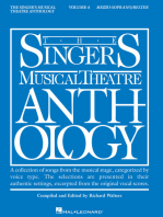Singer's Musical Theatre Anthology - Volume 4