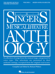 Singer's Musical Theatre Anthology - Volume 4: Mezzo-Soprano/Belter Book Only