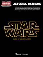Star Wars: Hal Leonard Recorder Songbook