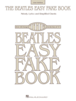The Beatles Easy Fake Book - 2nd Edition