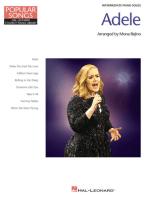 Adele - Popular Songs Series: 8 Beautiful Arrangements for Intermediate Piano Solo