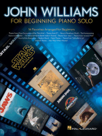 John Williams for Beginning Piano Solo