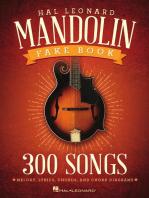 The Hal Leonard Mandolin Fake Book