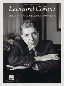363c65bdd1e97 Leonard Cohen - Sheet Music Collection  1967-2016 by Leonard Cohen ...