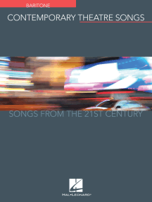 Contemporary Theatre Songs - Baritone: Songs from the 21st Century
