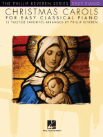 Christmas Carols for Easy Classical Piano: 15 Yuletide Favorites Arranged by Phillip Keveren