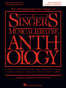 The Singer's Musical Theatre Anthology - 16-Bar Audition: Baritone/Bass Edition