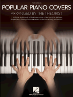 Popular Piano Covers: Arranged by The Theorist