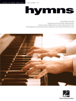 Hymns: Jazz Piano Solos Series Volume 47