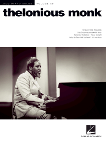 Thelonious Monk: Jazz Piano Solos Series Volume 49