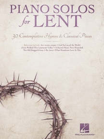 Piano Solos for Lent: 30 Contemplative Hymns & Classical Piano